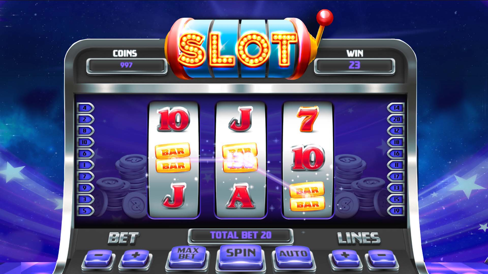Playing Online Slot Machine Like A Pro